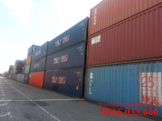 thu mua container cũ số lượng lớn