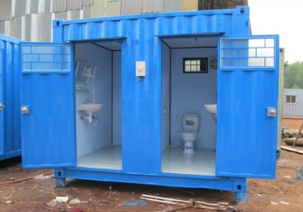 container vệ sinh 10feet