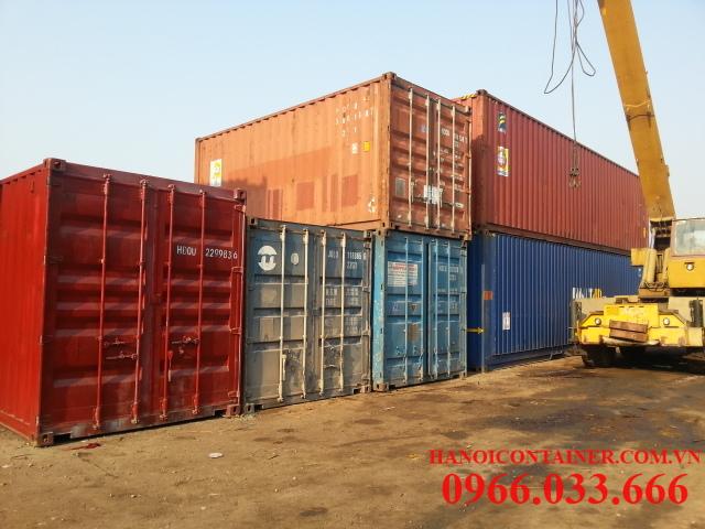 Bán container cũ giá rẻ ngang sắt vụn