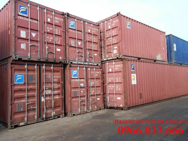 Container kho 20feet, 40feet cũ