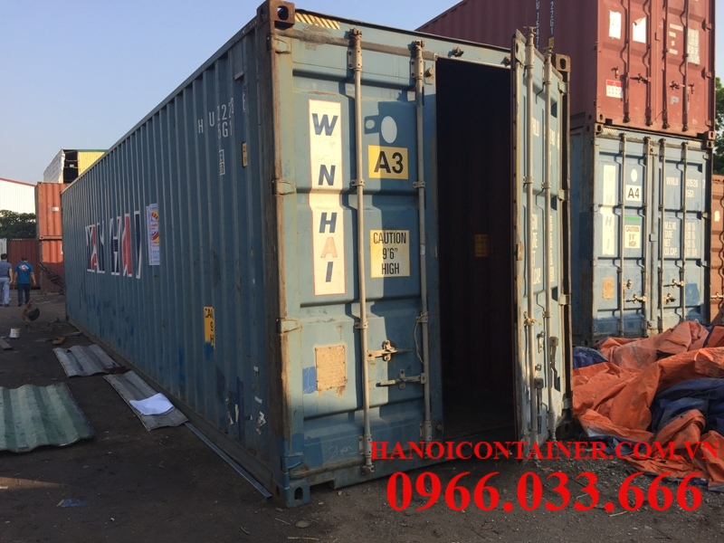 Container cũ 40feet giá rẻ
