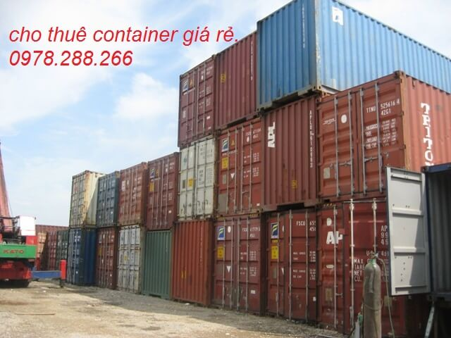 Container 20feet cũ