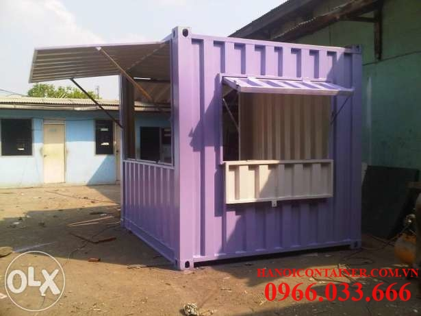 container bán hàng 10feet