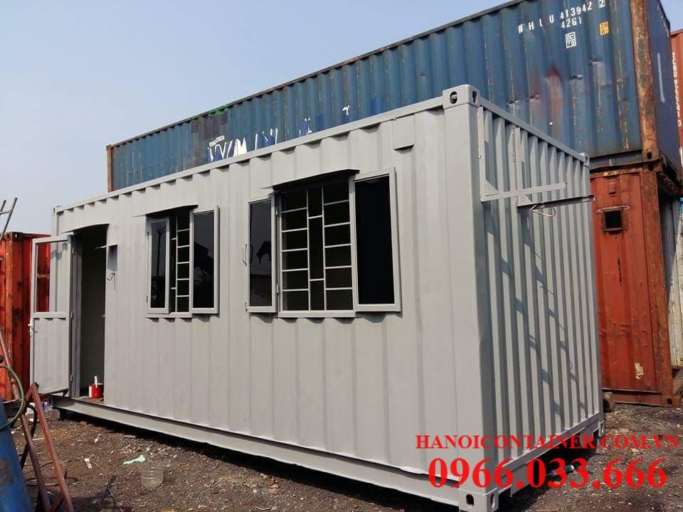 Cải tạo container cũ làm văn phòng