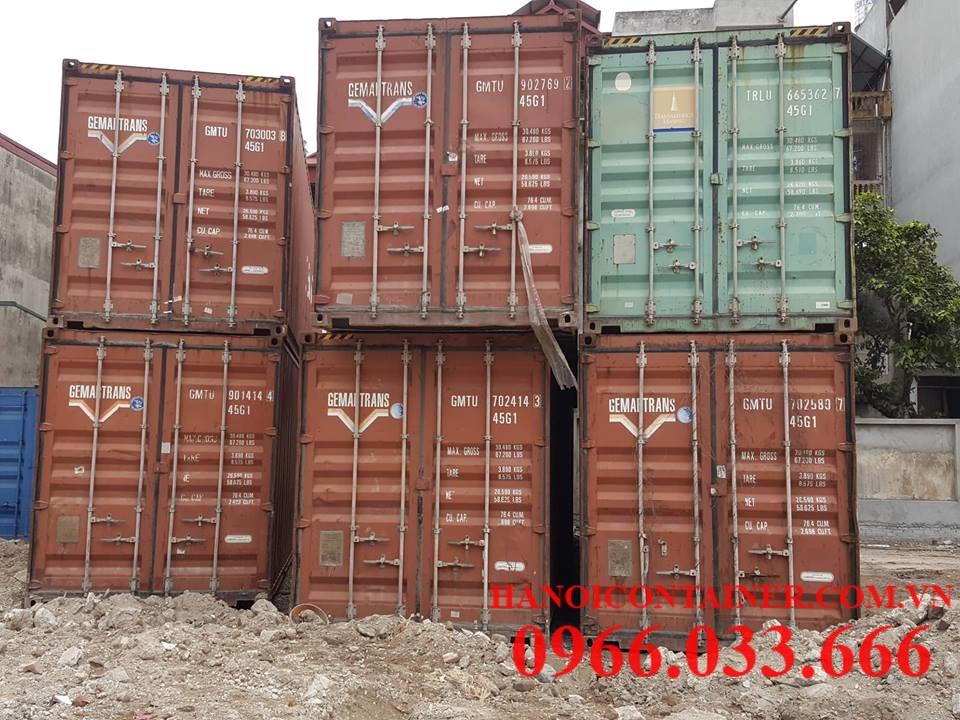container cũ giá rẻ tại Hà nội