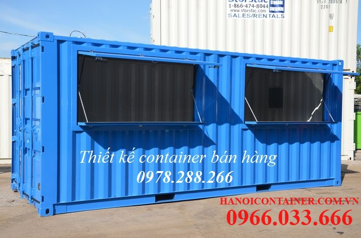 container bán hàng 20feet
