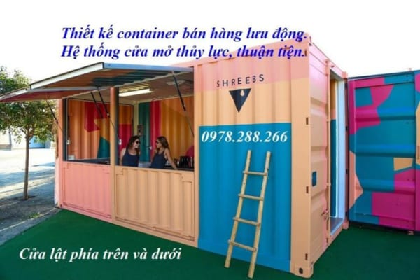 container bán hàng