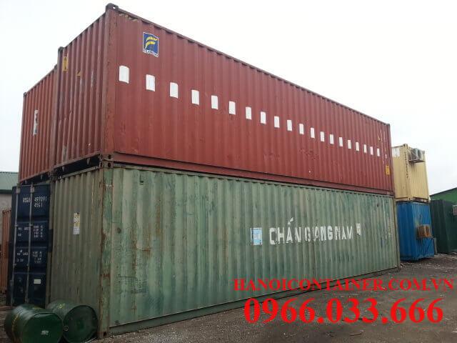 Địa điểm bán container cũ giá rẻ tại Hà Nội