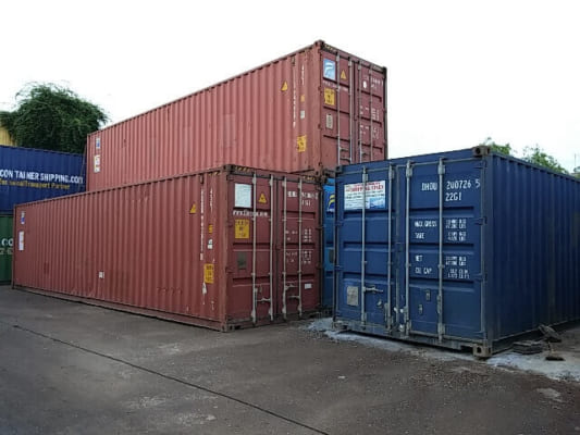 Container cũ chất lượng 70%