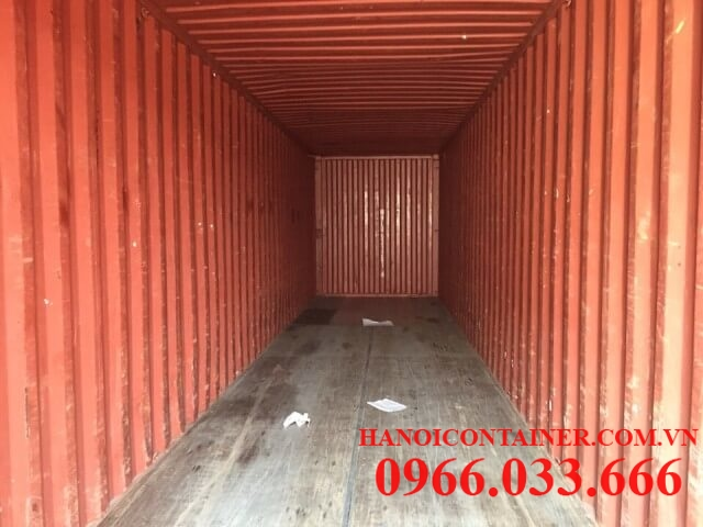 Container kho 40feet chất lượng 80%