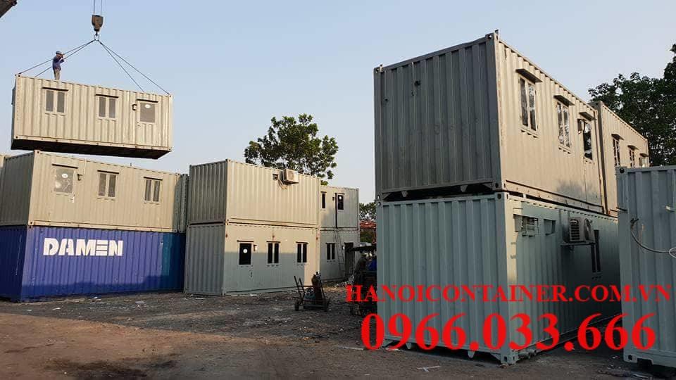 Dịch vụ cho thuê container văn phòng
