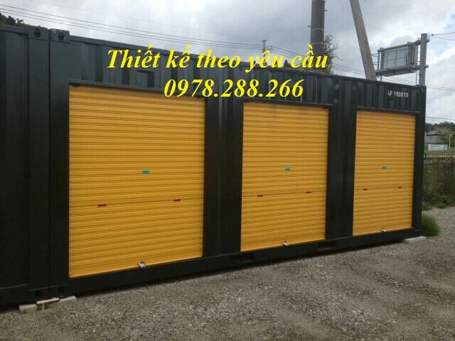 Container cửa cuốn
