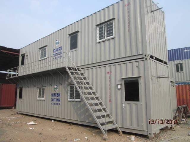 Container 40feet ghép