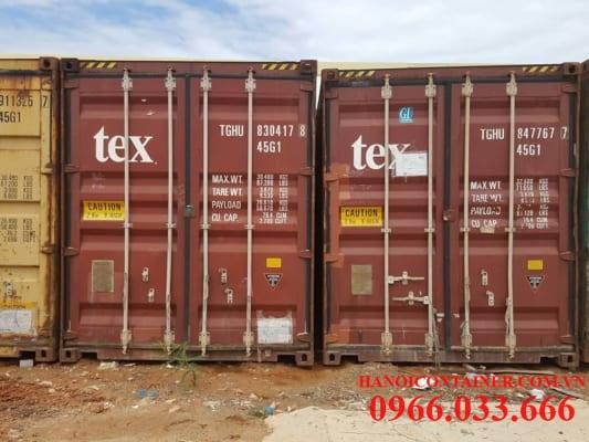 Nơi bán container cũ tại Hà Nội uy tín