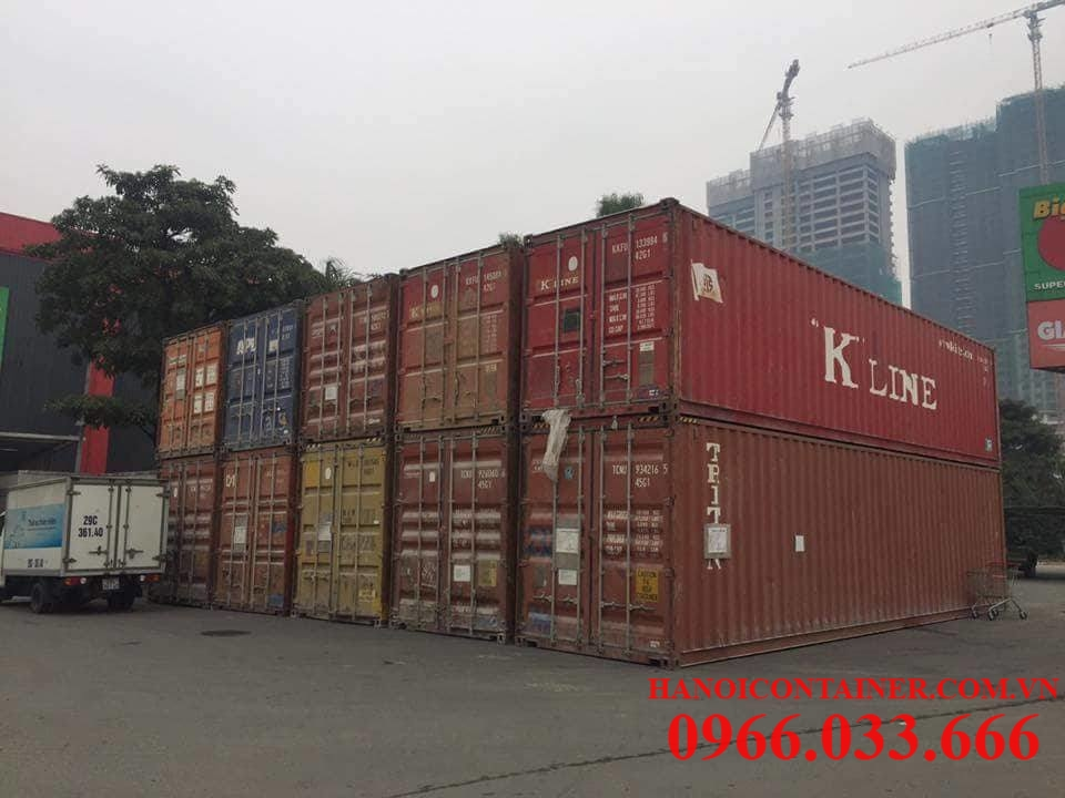 Cho thuê container kho 20feet, 40feet
