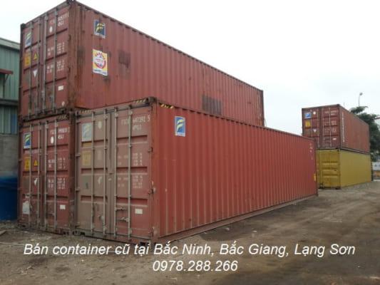 Bán container cũ tại bắc Ninh, Bắc Ging