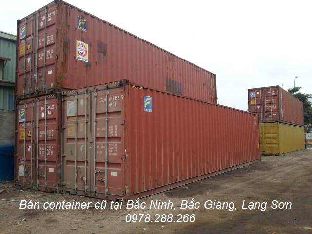 Bán container cũ tại bắc Ninh, Bắc Giang