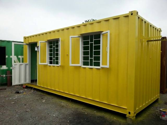 Container văn phòng 20feet cũ