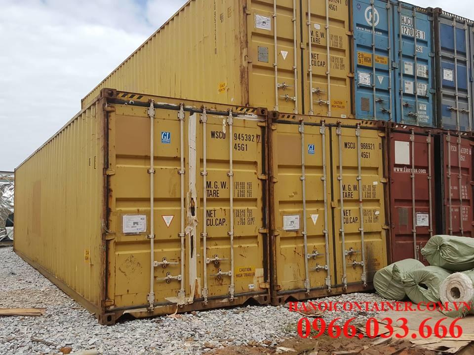 Lọi ích kinh tế khi sử dụng container cũ