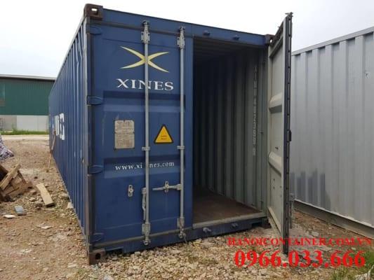 Container 40feet cũ, chất lượng 80%