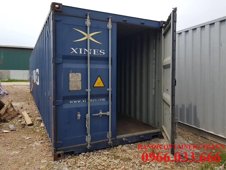 Vỏ container cũ nguyên bản, chất lượng 75%