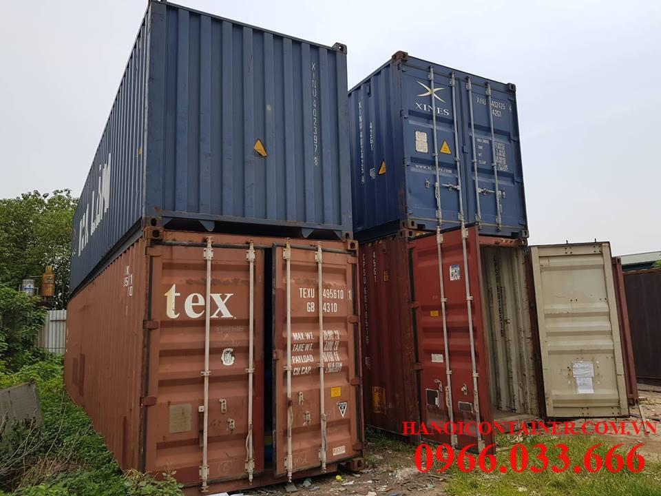Container cũ 40feet, chất lượng tốt