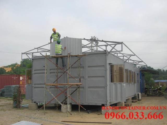 Ghép container văn phòng dự án