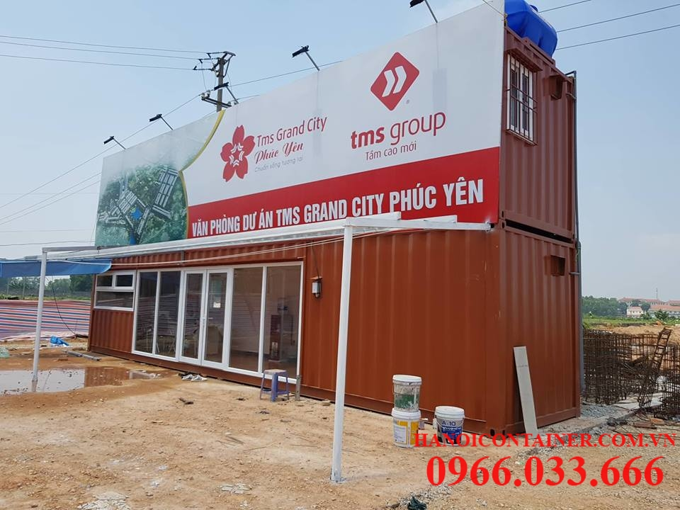 Container 40feet ghép 2 tầng