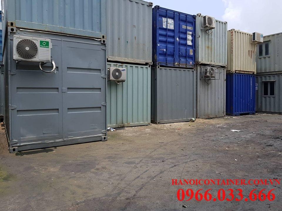 Container văn phòng cũ, bán và cho thuê