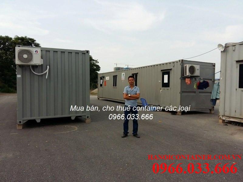 cho thuê container văn phòng các loại