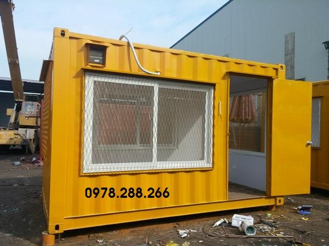 Container 12feet cho trạm trộn