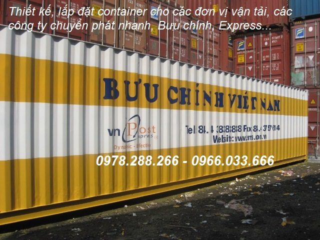 container 40feet làm kho