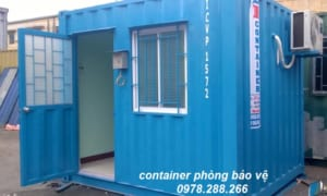 container 10feet bảo vệ