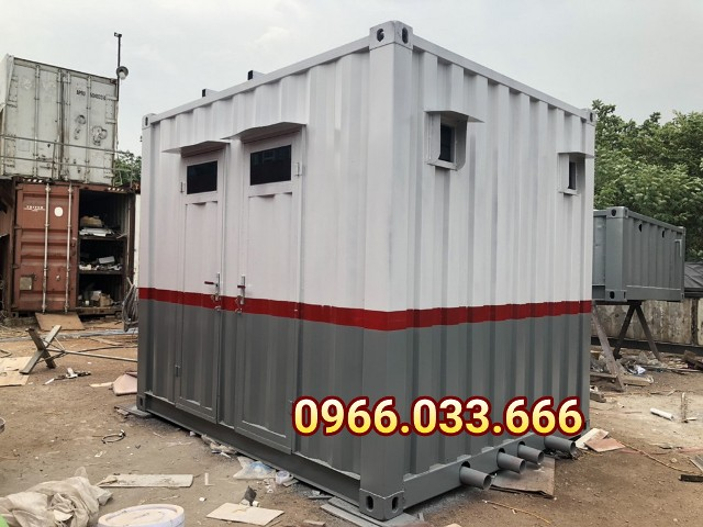 nhà vệ sinh container