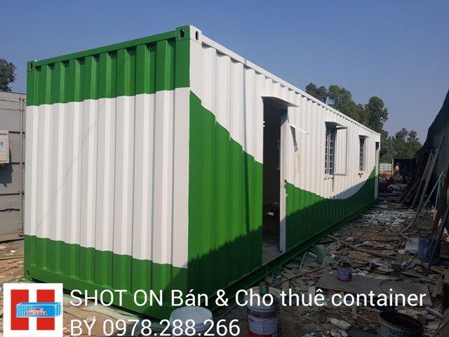 giá cho thuê container văn phòng