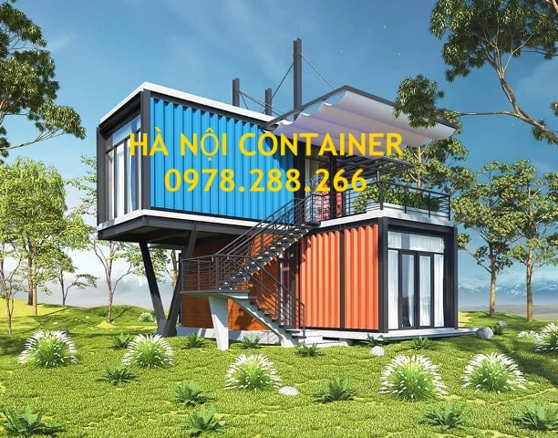 homestay container 2 tầng