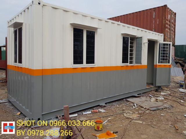 bán container văn phòng giá rẻ