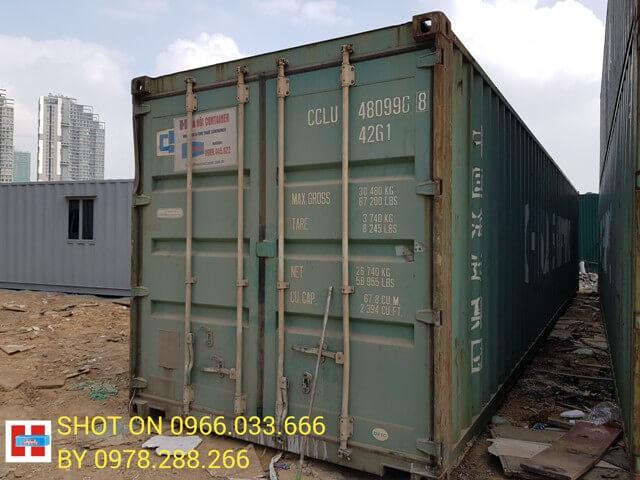 cho thuê container tại thanh hóa